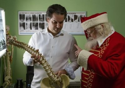 Kálbori Zsolt a Kiropraktika doktora