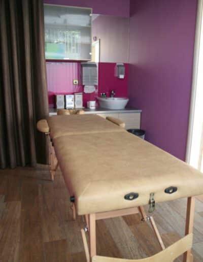 Kiropraktika Központ izsgáló-kezelő ágy Kiropraktika
